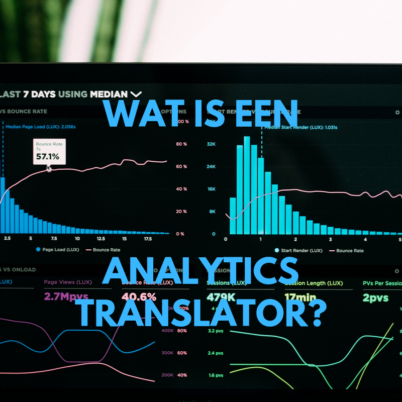 wat is een analytics translator