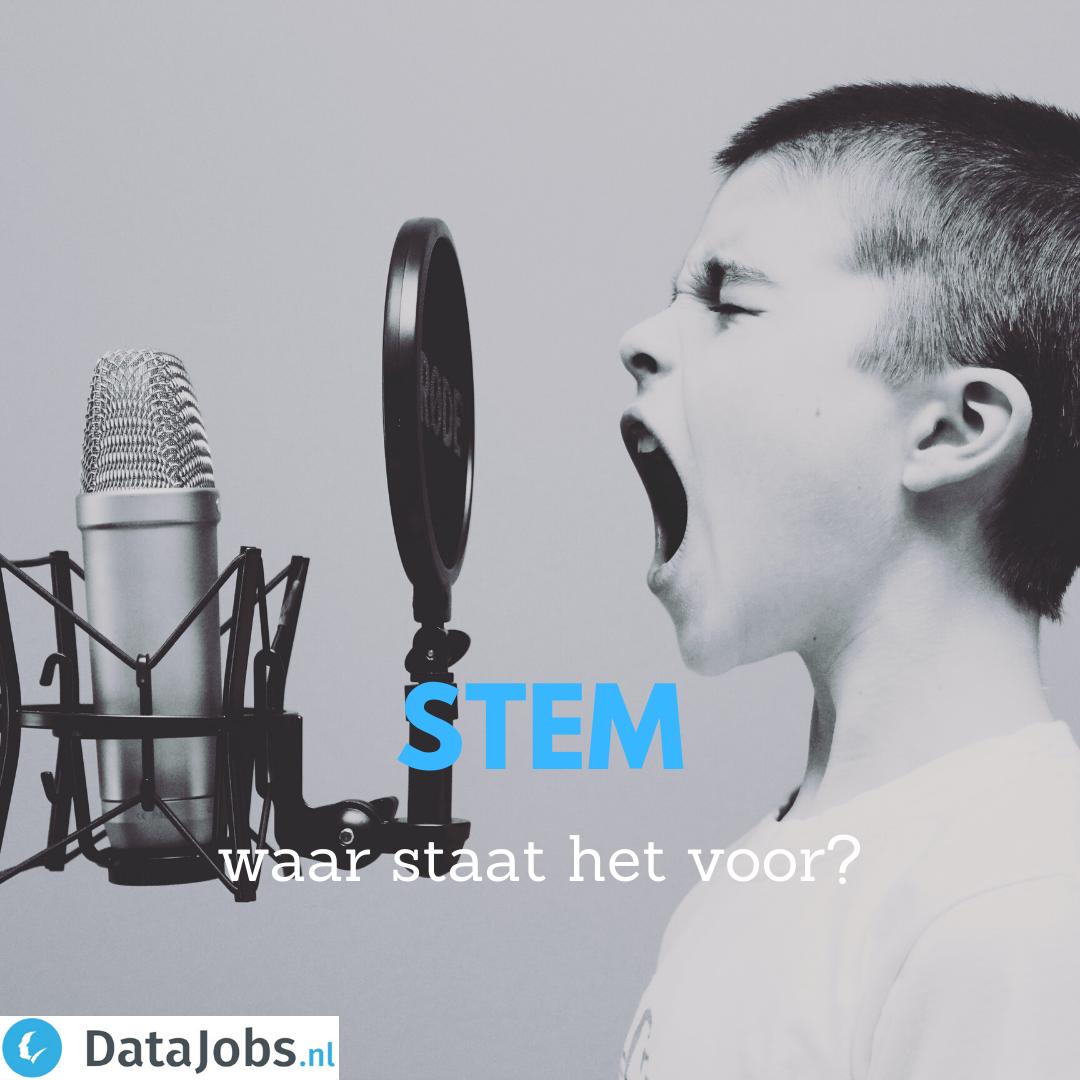STEM - waar staat het voor?